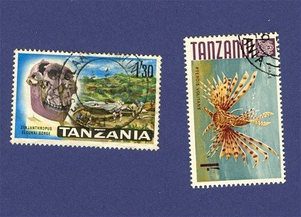 Tanzania 2 stamps