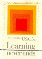 Education Learning Never Ends 15 cent Stamp FDI SC1833 First Day Issue
