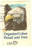 Organized Labor 15 cent Stamp FDI SC 1831 First Day Issue