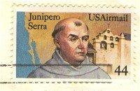 Junipero Serra Air Mail 44 cent Stamp FDI SC C116 First Day Issue