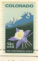 Colorado The Centennial State 13 cent Stamp FDI SC 1711 First Day Issue