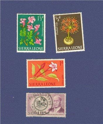Sierra Leone 4 stamps