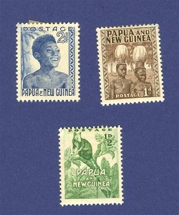 Papua and New Guinea 3 stamps