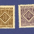 Madagascar French Colony 2 stamps Packet No 2448