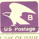Violet Eagle B Envelope FDI SC U592 First Day Issue