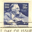 Franklin D Roosevelt 20 cent Stamp FDI SC 1950 First Day Issue