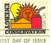Energy Conservation 13 cent Stamp FDI SC 1723 First Day Issue