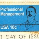 Professional Management 18 cent Stamp FDI SC 1920 First Day Issue