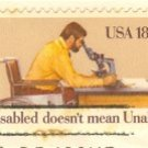 International Year of the Disabled 18 cent Stamp FDI SC 1925 First Day Issue