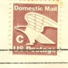 C Brown Eagle Stamp FDI SC 1946 First Day Issue