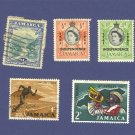 Jamaica 5 stamps