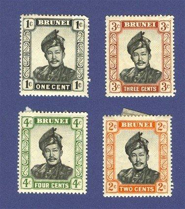 Brunei 4 stamps