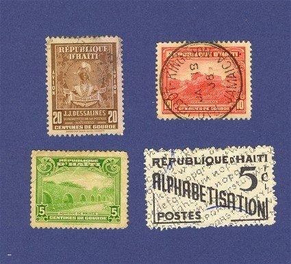 Haiti 4 stamps