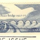 Peace Bridge United States and Canada 13 cent Stamp FDI SC 1721 First Day Issue