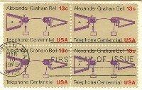 Alexander Graham Bell Telephone Centennial 13 cent Stamp FDI SC 1683 First Day Issue