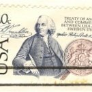 USA Sweden Treaty of 1783 20 cent Stamp FDI SC 2036 First Day Issue