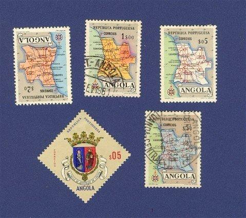 Angola 5 Stamps