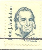 John J Audubon Stamp 22 cent Great Americans Issue FDI First Day Issue