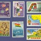 Ghana 7 stamps