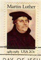Martin Luther 20 cent Stamp FDI SC 2065 First Day Issue