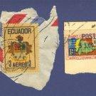 Ecuador 2 stamps