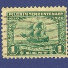 United States Pilgrim Tercentenary Issue  1920 1 cent Mayflower