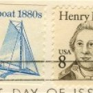 Henry Knox 8 cent Stamp Great Americans Issue FDI SC 1851 First Day Issue