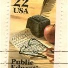 Public Education Stamp 22 cent FDI SC 2159 First Day Issue