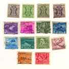 India Packet No 5512 with 14 stamps