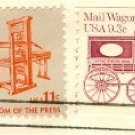Mail Wagon Coil stamp 9.3 cent FDI SC 1903 First Day Issue Transportation Issue