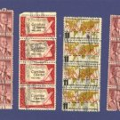 United States Stamps 4 Sets of Vertical strip of 4  Packet No 31646