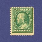 United States 1908 1 cent Franklin Stamp  Scotts No 331