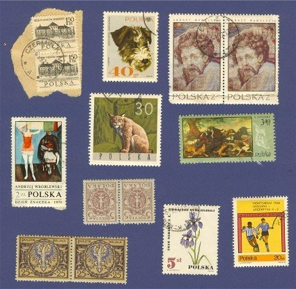 Poland Packet No 2498 with 10 stamps