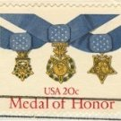 Medal of Honor Stamp 20 cent FDI SC 2045 First Day Issue