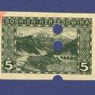 Bosnia and Herzegovina  1 stamp Packet No 1536
