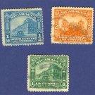 Nicaragua  3 Stamps  1914 to 1922