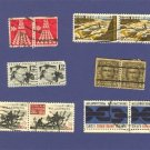 United States Stamps 5 Sets Horizontal Pairs Packet 23640