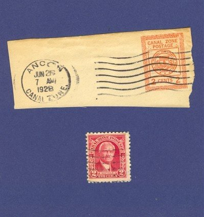 Canal Zone 2 Stamps