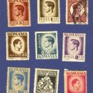 Romania Packet No 2470 with 9 stamps