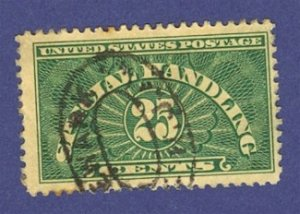 1929 United States 25 cent Special Handling Stamp Scotts No QE4