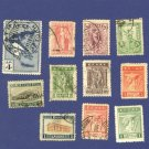 Greece  11 Stamps from 1900 to 1935   Packet 3755