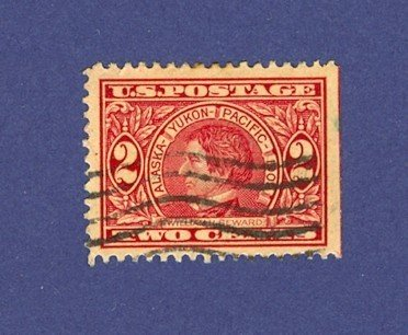 1909 Alaska Yukon Issue 2 cent William H Seward