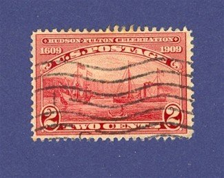 1909 Hudson Fulton Celebration Issue Halfmoon and Clermont
