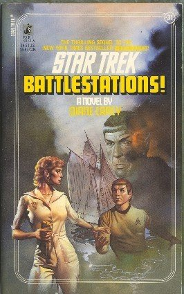 Battlestations by Diane Carey Book 31 Original Star Trek Series