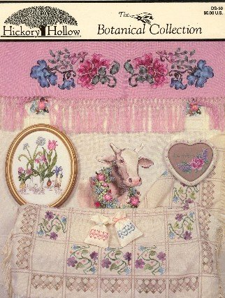 The Botanical Collection Counted Cross Stitch by D. Selby