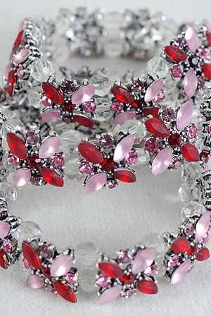SALE� Fashion Bracelets No.13D- S 20168 RD