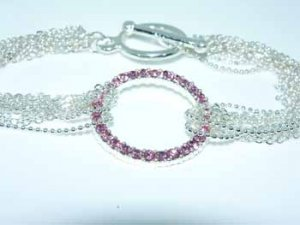 Wholesale Pink Vie vita Circle Bracelet