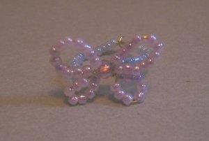 Handmade Beaded Butterfly Ring