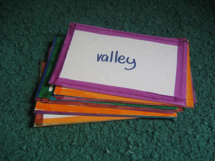 Geographical Terms Flashcards