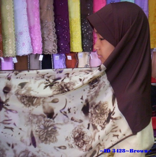 New~Kuwaiti Hijab~Amira~Mona~Muslim/Islamic Head Scarf~Tudung~Kleidung (ID 3428)